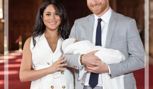 ヘンリー王子とメーガン妃の長男アーチーの名前の意味・理由は?インスタ白黒画像で肌が話題に!画像