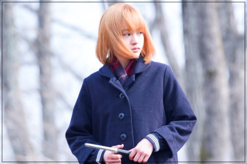 大谷凛香の髪型が金髪になって可愛い!スカート短い太もも画像も?
